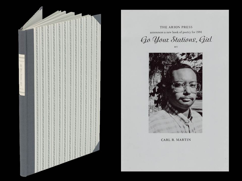 Go Your Stations, Girl by Carl Martin, Arion Press Signed Edition, Limited to 250