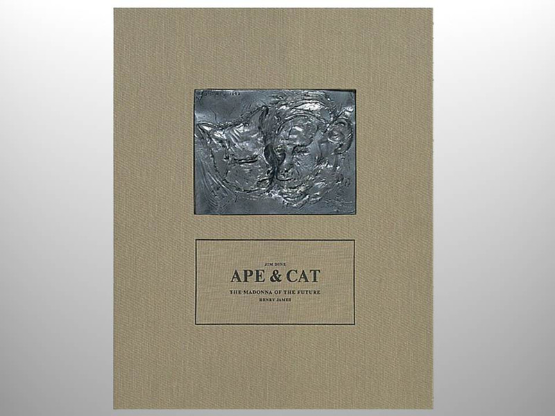 Ape & Cat, Illustrations and Sculpture by Jim Dine, Arion Press, Limitation of 75 Editions