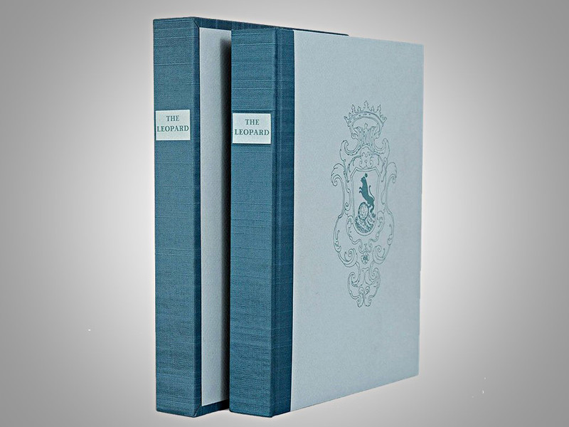 The Leopard by Giuseppe di Lampedusa, Arion Press Limited Edition, 61 of 300