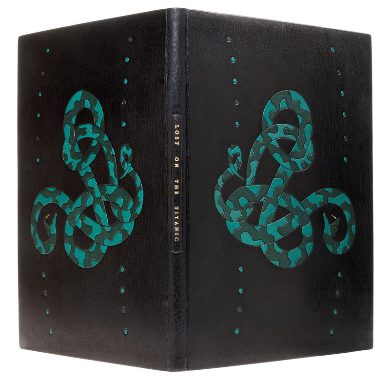 Lost on the Titanic: The Story of the Great Omar, Unique Binding by Scott Kellar