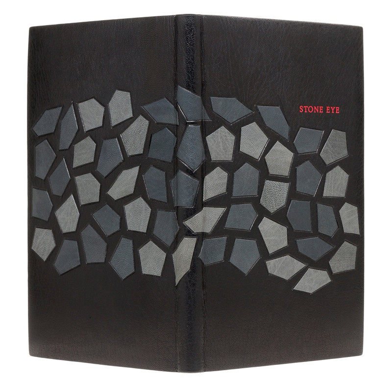 Stone Eye, Signed Limited Edition, Unique Exhibition Binding by Scott Kellar