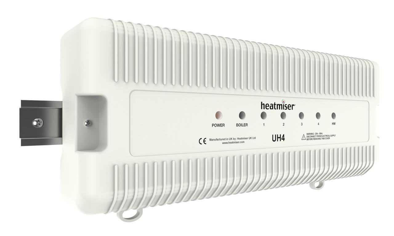 Heatmiser UH4 - 4 Zone 230v Wiring Centre on