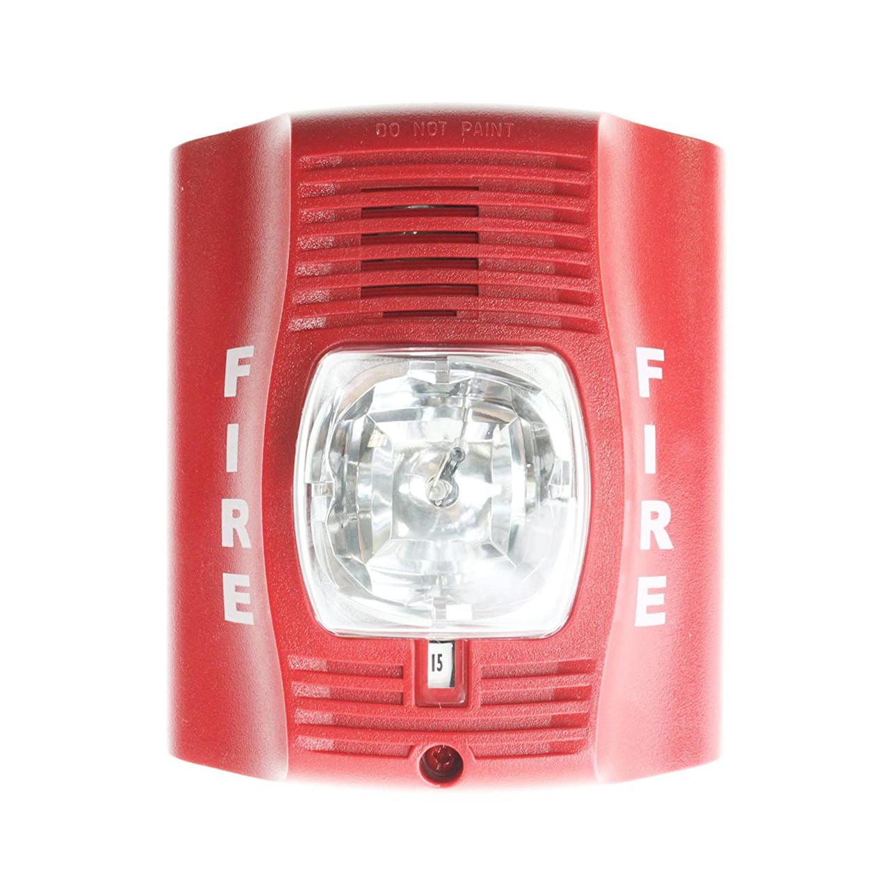 System Sensor SpectrAlert Advance 120v Outdoor Horn Strobe P2rhk-120 for sale online