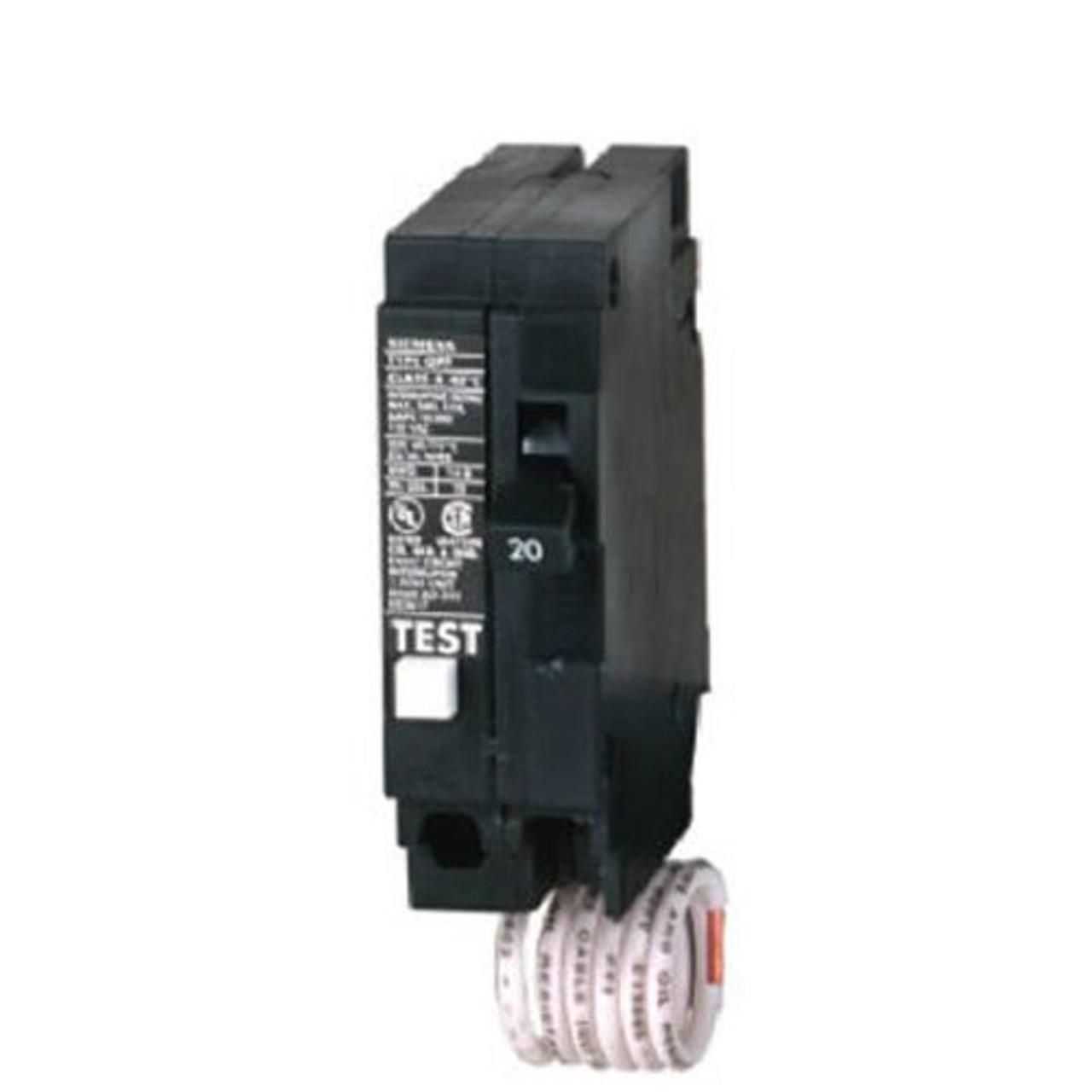 siemens 20 amp breaker 120//240v