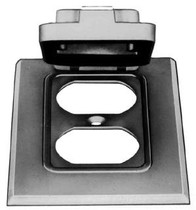 Device Mount Thomas /& Betts DCCG-BR 1-Gang Bronze GFCI Device Cover with Gaskets and Screws