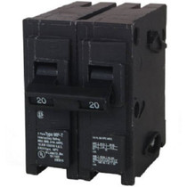 BRD 2 DOUBLE 15A BQ215-215 15 AMP QUAD DOUBLE 2 POLE REJECTION CLIP CTL FITS IN 2 BREAKER SPACES BQ215215 BRYANT PLUG-IN CIRCUIT BREAKER