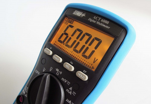 ACT 6000 Alarm Troubleshooting Digital Multimeter