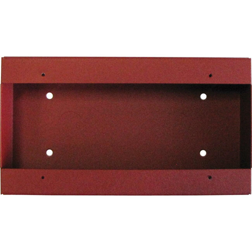 Fire-Lite SBA-10 Surface Mount Back Box, Red