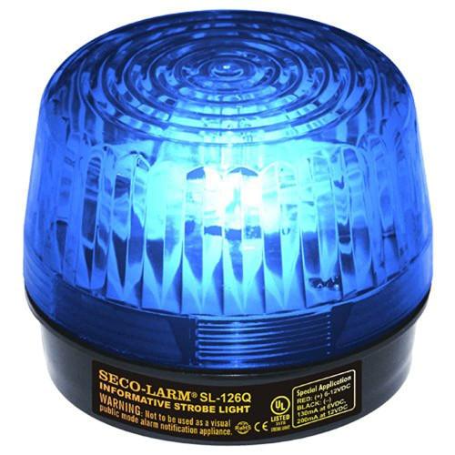 Seco-Larm Enforcer Xenon Strobe Light 24VDC SL-126-A24Q//R Red Lens
