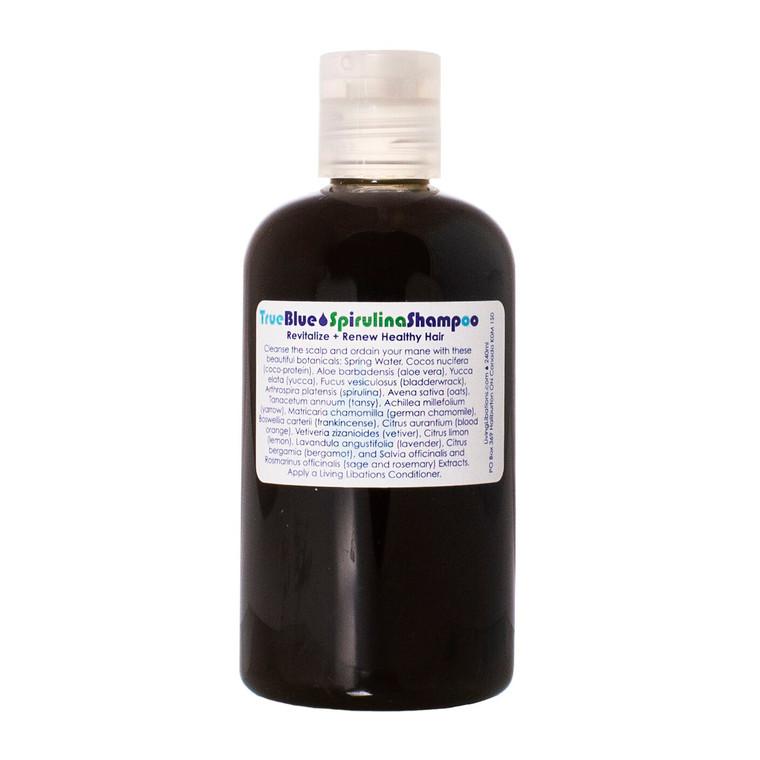Living Libations True Blue Spirulina Shampoo