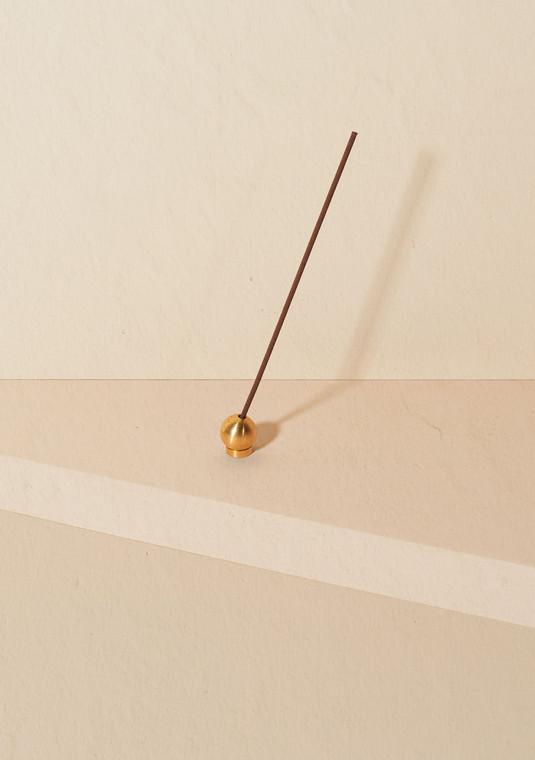 Bodha Brass Incense Holder
