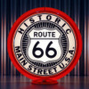 "Route 66 - 13.5"" Advertising Globe"