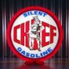"Silent Chief Gasoline - 13.5"" Gas Pump Globe"