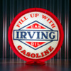 "Irving Gasoline - 13.5"" Gas Pump Globe"