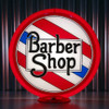 "Barber Shop - 13.5"" Advertising Globe"