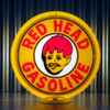 Red Head Gasoline | Gas Pump Globe