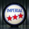 "Esso Imperial 3 Star Gasoline - 13.5"" Gas Pump Globe"