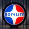 "Royalite (Late) Gasoline - 13.5"" Gas Pump Globe"