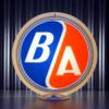 "BA British American Gasoline (Gulf Transition) - 13.5"" Gas Pump Globe"