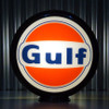 "Gulf Gasoline - 13.5"" Gas Pump Globe"