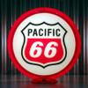 Pacific 66 Gasoline   Gas Pump Globe