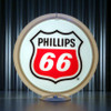 "Phillips 66 Gasoline - 13.5"" Gas Pump Globe"
