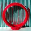 "13.5"" Red Plastic Gas Pump Globe Body   Pogo's Garage"