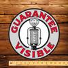 """Guarantee Visible (FRY) 12"""" Pump Decal"""