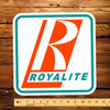 """Royalite (Early) 12"""" Pump Decal"""