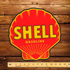 "Shell Gasoline 12"" Pump Decal"