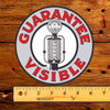 "Guarantee Visible (FRY) 6"" Gas Pump Decal"