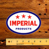"Esso Imperial 3 Star Products 6"" Oil Lubester Decal"