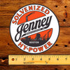 """Jenney Solvenized Hy-Power 6"""" Lubester Decal"""