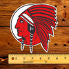 McColl Frontenac Red Indian Die Cut Decal