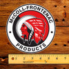 """Red Indian (McColl Frontenac) 6"""" Lubester Decal"""
