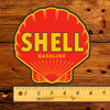 Shell Gasoline Gas Pump Lubester Decal