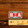 BA Bowtie Service Products Oil Bottle Decal