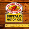 Prairie Cities Oil Co Limited Buffalo Motor Oil Decal