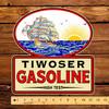 """Tiwoser Gasoline 12"""" Pump Decal"""