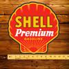 "Shell Premium Gasoline 12"" Pump Decal"