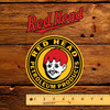 "Red Head Petroleum Products 6"" x 9"" Lubester Decal"