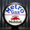 "Mobil Metro Gas Mobiloil Gargoyle 15"" Lenses"