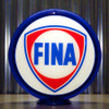 "FINA Petrofina Gasoline - 13.5"" Gas Pump Globe Lenses"