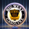 Big West Ethyl custom globe | Pogo's Garage