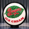 "Breyers Ice Cream - 13.5"" Advertising Globe"