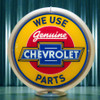 "Chevrolet Parts - 13.5"" Advertising Globe"