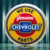 "Chevrolet Parts - 13.5"" Advertising Globe"