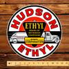 """Hudson Ethyl Gasoline 12"""" Pump Decal"""