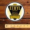 "Ethyl Gasoline Corporation Starburst 6"" Decal"