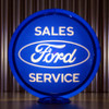 """Ford Oval Sales Service - 13.5"""" Advertising Globe"""